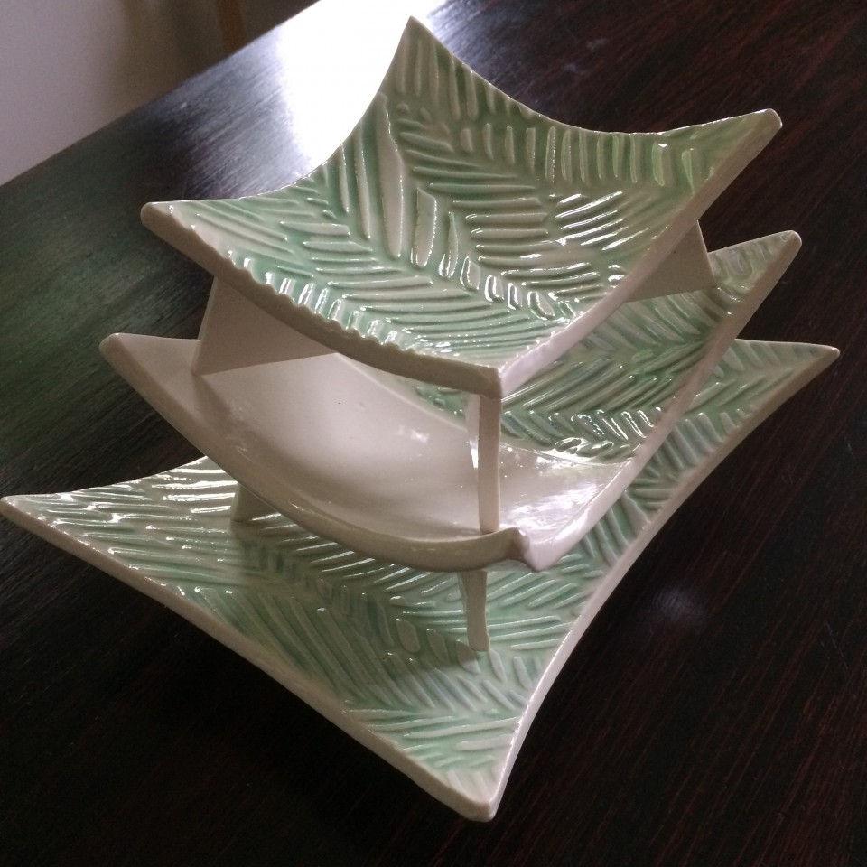 Porcelain Retro Plates